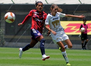 Pumas derrota al Veracruz en la liga MX Femenil 2-0 en la jornada 3 2018 (3)