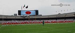 Selección de Japón de Futbol Americano U-19 Estadio Olimpico Universitario Ciudad de Mèxico