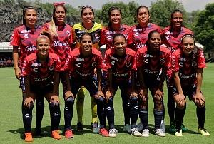 equipo titular de Veracruz femenil en la jornada 3