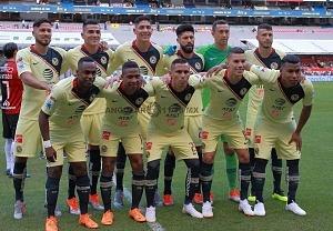 equipo titular de las Aguilas del América en la jornada 2 del torneo apertura 2018