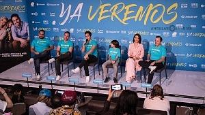 presentación y conferencia de prensa de la pelicula YA VEREMOS