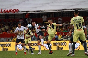 América empata con los Pumas de ultimo momento 2-2 en la jornada 7 del torneo de liga apertura 2018