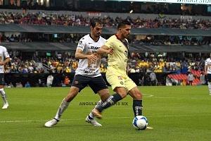 América empata con los Pumas de ultimo momento 2-2 en la jornada 7 del torneo de liga apertura 2018 arribas