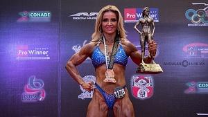 Competidora de fisicoconstructivismo de la categoria Señorita Perfección finalista con el numero 1178 (campeonta 66 Mr México 2018)