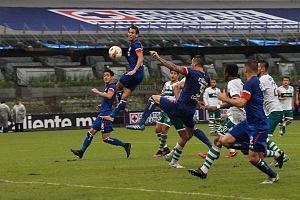 Cruz Azul le Gana en el Torneo de Copa al Zacatepec 2-0 en el Estadio Azteca 3