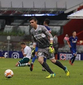 Cruz Azul le Gana en el Torneo de Copa al Zacatepec 2-0 en el Estadio Azteca arquero del Zacatepec Orozco
