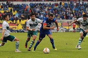 Cruz Azul le Gana en el Torneo de Copa al Zacatepec 2-0 en el Estadio Azteca g