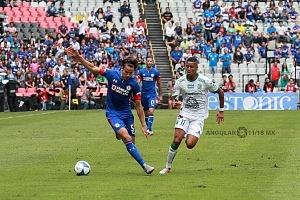 Cruz Azul mantiene lo invicto al vencer al LÉON 3 a 0 en la jornada 5 del torneo de la Liga MX apertura 2018 3