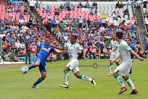 Cruz Azul mantiene lo invicto al vencer al LÉON 3 a 0 en la jornada 5 del torneo de la Liga MX apertura 2018 6