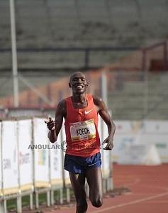 Edwin Kipngetich Koech segundo lugar del maraton de la ciudad de México 2018