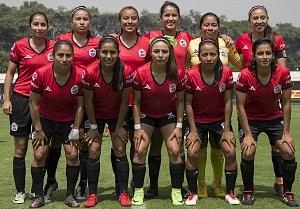 Equipo titular de Lobos BUAP femenil jornada 5
