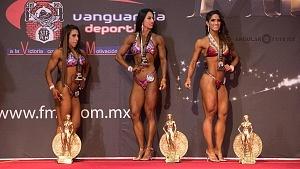 Fitness Figura con el número 1499, Yukari Peralta Jiménez de Baja California 1