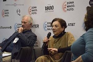 Graciela Iturbide hablando del libro Yo estuve en Avándaro en Zona Maco