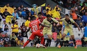 Las Águilas del América vencen 3-0 a los Tiburones rojos de Veracruz en la jornada 2 de la liga MX Estadio Azteca (1)