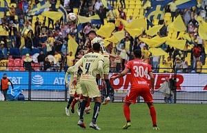 Las Águilas del América vencen 3-0 a los Tiburones rojos de Veracruz en la jornada 2 de la liga MX Estadio Azteca 2