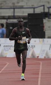 Maratón de la Ciudad de México 2018 llegada a la meta