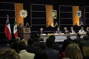 Michelle Bachelet ex presidenta de Chile participo en la Cátedra Internacional por los Derechos Humanos y la Paz Alfonso García Robles 2