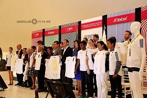 Presentan playera oficial de la 36 edición del Maratón de la CDMX Telcel 2018 Museo Soumaya