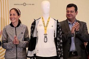 Presentan playera y medalla oficial de la 36 edición del Maratón de la CDMX Telcel 2018 Museo Soumaya