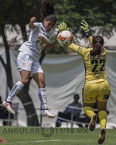 Pumas derrota a Lobos BUAP en la Jornada 5 de la Liga MX Femenil por 1-0