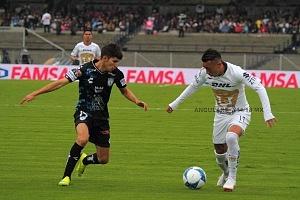 Pumas iguala 0-0 frente al Pachuca en el estadio Olimpico Universitario jornada 4 apertura Liga MX 2018