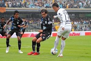 Pumas iguala 0-0 frente al Pachuca en el estadio Olimpico Universitario jornada 4 apertura Liga MX 2018 8