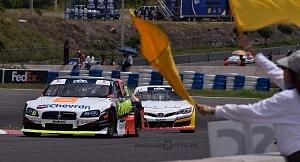Séptima fecha del campeonato NASCAR Peak México Series 2018 bandera amarilla