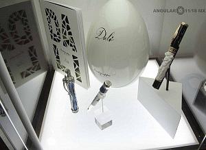 Zona Maco stand Pen Brans el Arte de la Escritura plumas Dalí