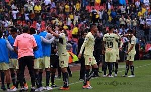 festejo del gol del América ante Pumas en la Jornada 7 del apertura 2018 1