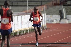 segundo lugar del maratón categoria varonil el keniano Edwin Kipngetich Koech