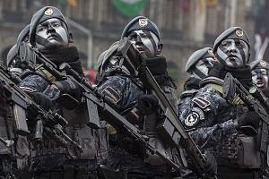 El Desfile Militar del 16 de Septiembre 2018, contó con la participación de 18 mil 736  integrantes de las fuerzas armada