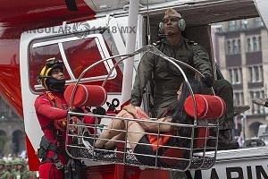El Desfile Militar del 16 de Septiembre de 2018 contó con la participación  de diferentes cuerpos de rescate