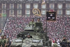 El Desfile Militar del 16 de Septiembre 2018, contó con la participación de 18 mil 736  integrantes de las fuerzas armadas