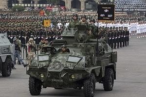 El Desfile Militar del 16 de Septiembre de 2018, contó con la participación de 401 vehículos