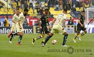 América vence al Monarcas Morelia 2-1, en la jornada 9 del torneo de liga mx, apertura 2018