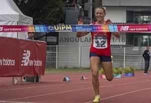 Anastasiya Prokopenko ganó el oro en la prueba individual femenil del Campeonato Mundial de Pentatlón Moderno CDMX 2018