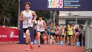 el Británico James Cooke gana el oro en el Mundial de Pentatlón Moderno CDMX 2018