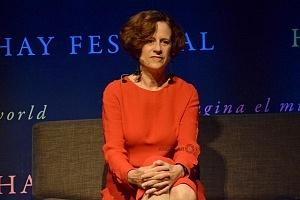 Denise Dresser Periodista y analista en el Hay Festival Querétaro 2018