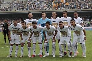 El equipo de los Pumas, en la jornada 9 del torneo de liga apertura 2018