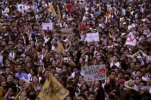 Estudiantes marchan en Ciudad Universitaria el 5 de septiembre en contra de la violencia y la represión