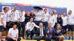 Francia, se corono campeón por equipo, del mundial de pentatlón moderno cdmx 2018