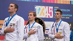 Francia, se corono campeón por equipo del mundial de pentatlón moderno cdmx 2018