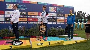 James Cooke de Gran Bretaña gana el oro, en el Mundial de Pentatlón Moderno CDMX 2018