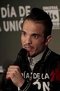 Kuno Becker en la presentación de la cinta El día de la unión