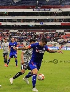 La Maquina, de la Cruz Azul, vence al, Atlas 2-0 en la Jornada 10, del Apertura, 2018