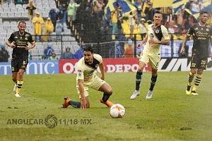 Las Águilas del América vence al Monarcas Morelia 2-1, en la jornada 9, del torneo de liga mx, apertura 2018