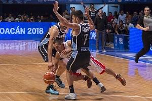 México cae frente Argentina-74-78 en juego clasificatorio rumbo al Mundial de China 2019 Gimnasio Juan de la Barrera