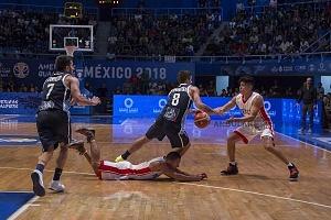 México cae frente  Argentina 74-78, Gimnasio Juan de la Barrera , Ciudad de México