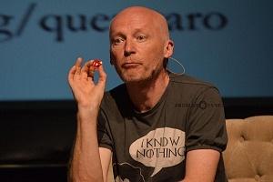 Marcus Du Sautory Matematico se prento en el Hay Festival Querétaro 2018