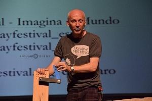 Marcus Du Sautory Matematico se presento en el Hay Festival Querétaro